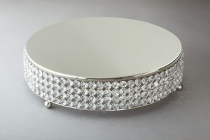 45cm Crystal Beaded Cake stand – R399