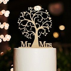 Custom made wedding cake toppers from R199 to R750