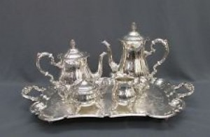Catering Equipment 11 - Silver tea sets – from R89 per set