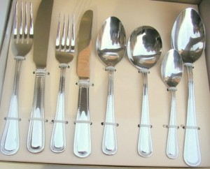 Catering Equipment 2 - Beaded cutlery @ R2.99 per piece