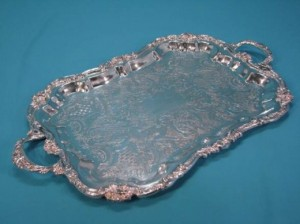 Catering Equipment 3 - Silver trays @ R49