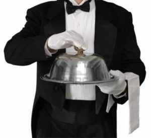 Catering Equipment 4 - Waiters gloves @ R20 each
