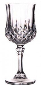 Catering Equipment 8 - Crystal Glasses @ R18 each