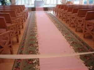 Carpet Rentals 2 - Rose pink carpet – R1500 rental price