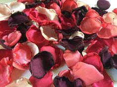 27 - Fresh Rose petals mixed - R350 per box