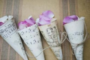 14 - Music note confetti cones - R8.99 ( without petals)