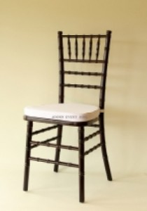 9 - Brown Tiffany chairs