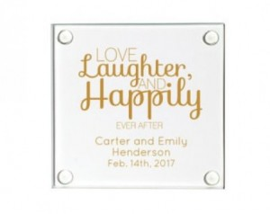 172 -Glass coasters with printing 100 x 100mm – R29 each ( Packaging not included