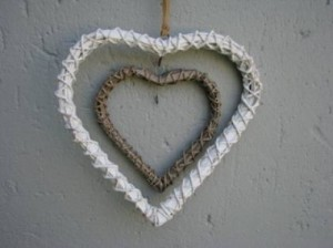 Heart Products Double heart rim - R75