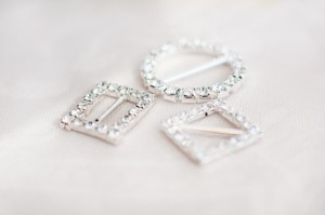 6 - Swarovski crystal buckles R12.50 to R25 each