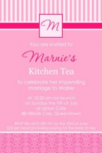 Kitchen Tea Invites 8