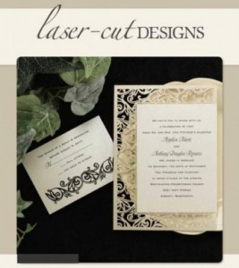 1. Laser cut invitations from R20 to R100 each