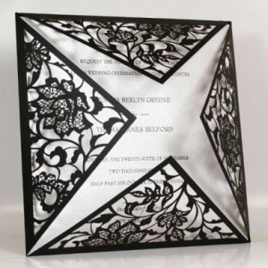 2. Laser cut invitations from R20 to R100 each 2. Laser cut invitations from R20 to R100 each