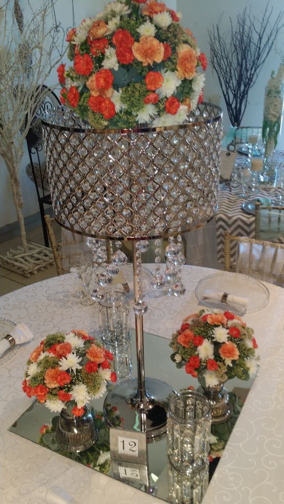 Rentals | The Wedding Warehouse on flower table runner, flower chair covers, flower ball rentals, lighting rentals,